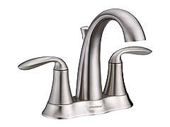 Brenta Centerset Faucet, Nickel