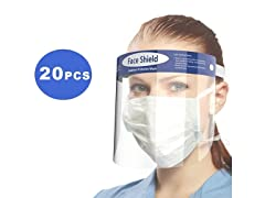 Reusable Face Shields (20-Pack)