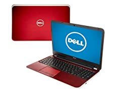 "17.3"" Intel i5 Dual-Core Laptop - Red"