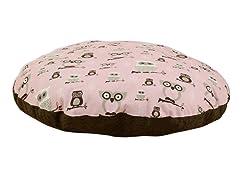 """Hooty Bella Cozy  36"""" Round Pet Bed"""
