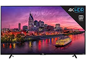TCL 55P605 55-inch 4K UHD HDR Roku Smart TV