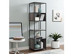 "5-Shelf Bookcase, 70"""