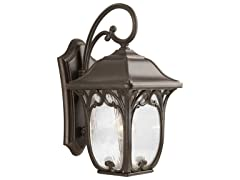 1-Light Wall Lantern, Espresso