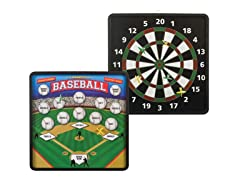 2-in-1 Magnetic Dartboard