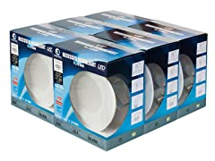 LED Recessed Down Lights - 6 Pack