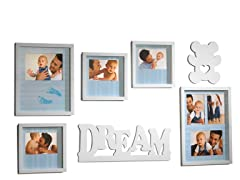 Melannco 7-pc Baby Dream Wall Set