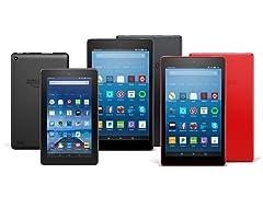 """Amazon Fire HD 8"""" (2017) Tablets"""