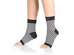 Plantar Fasciitis - Compression Foot Sleeve Pair - Improves Blood Circulation