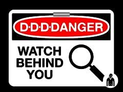 D-D-D-Danger Pullover Hoodie