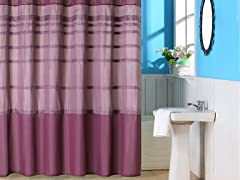 Orleans Pintuck Shower Curtain