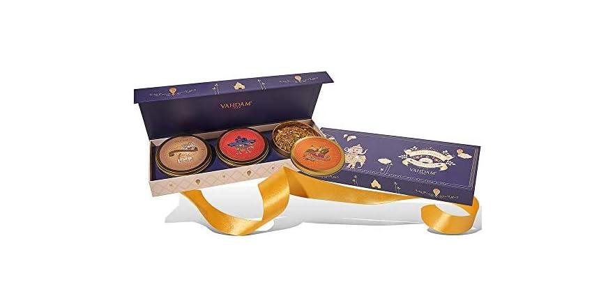 VAHDAM, Housewarming Tea Gift Set - 3 Teas in a Gift Box | WOOT