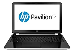 "HP Pavilion 15.6"" AMD A4 500GB SATA Notebook"