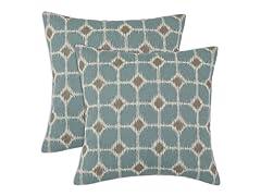 Sofie 17x17 Pillows - Cadet - Set of 2