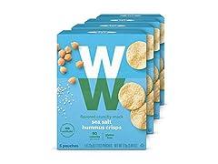 Weight Watchers Sea Salt Hummus Crisps