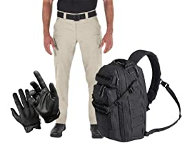 First Tactical Pack, Apparel and Gloves
