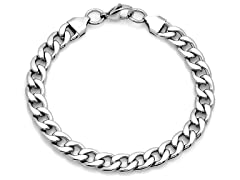 Stainless Steel Cuban Bracelet