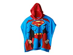 Superman Hooded Poncho - Toddler