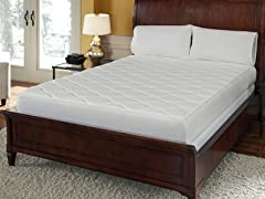 "Pure Rest 10"" Quilted Top Memory Foam Mattress"