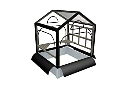 Raised Garden, Garden Rack & Greenhouse