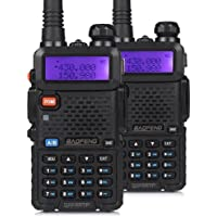 2-Pack Baofeng UV-5RTP Two-Way Radio Transceivers