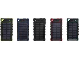 Ultra-Compact High-Speed 5,000 mAh Portable Solar Charger