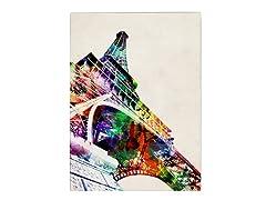 Eiffel Tower Canvas Art