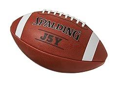 Spalding J5Y Silver Football