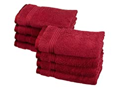 Superior 8Piece Hand Towel Set-15 Colors
