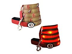 "Dog-E-Glow Florida State University ""Seminoles"" Leash"