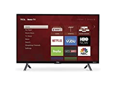 "TCL 55S405B 55"" 4K UHD Wi-Fi Roku Smart TV"