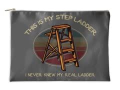 """""""This is My Step Ladder"""" Accessory Pouch"""