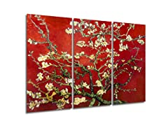 vanGogh - Blossoming Almond Tree Red