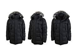 Mens Heavy Weight Down Parka Jackets