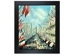 Monet - La Rue Montorgueil, Paris