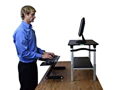 Uncaged Ergonomics Standing Desk Conversion Kit