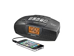 iHome Hotel Alarm Clock Radio with Preset Tuning