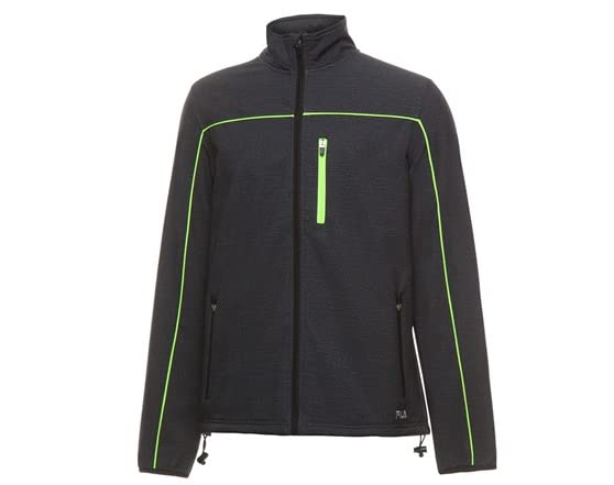 Fila lm143hy4 men's bonded jacket black