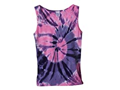 Womens Ribbed Tank - Purple Pink (S-XL)