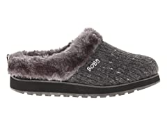 Skechers Women's Bobs Puffers, Charcoal