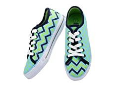 Groovy Zigzag Lace-up