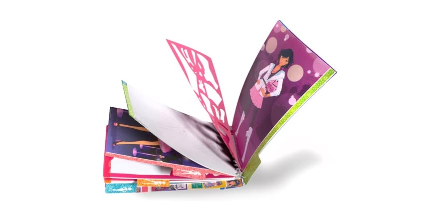 Style Me Up Fashion Collection Sketchbook Kids Toys