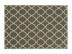 Amalfi Indoor/Outdoor-Charcoal (3 Sizes)