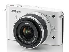 Nikon 1 J1 Digital Camera w/10-30mm Lens