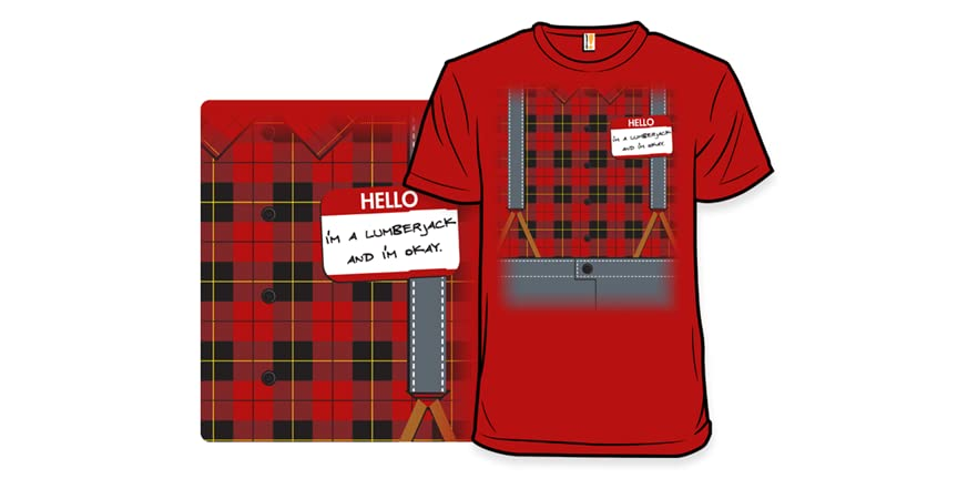 8df5124a Shop Heart belongs to a logger T-Shirt created by Personalize it with  photos & text or purchase as is!