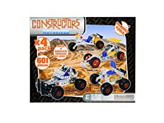 4 in 1 Motorized Metal Constructors Set