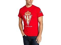 Sporting de Gijon Logo S/S T-Shirt