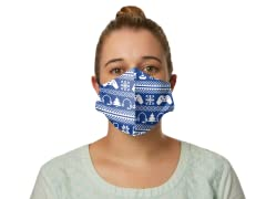 """""""Holiday High Score""""  Face Mask - General Use"""