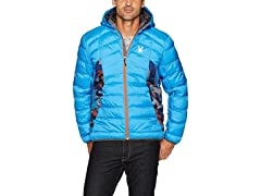 Spyder Men's Geared Synthetic Down Coat