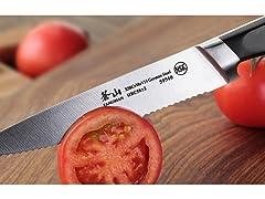 Cangshan V2 Series 59540 Serrated Knife