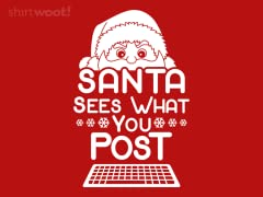 Santa Sees What You Post